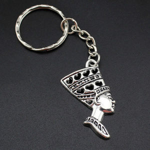 Accessories - New Egyptian African Queen Nefertiti Key Chain